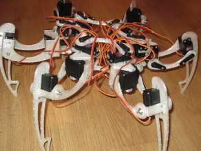 Printable Hexapod