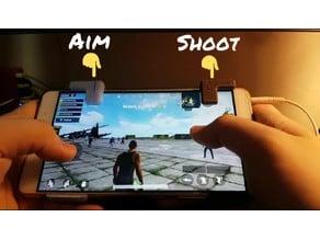S9 Plus Mobile Shoulder Trigger