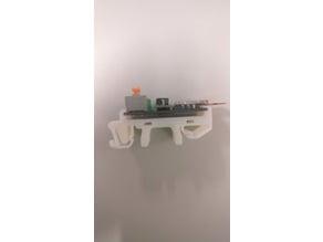 DIN Rail holder for custom board