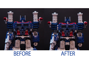 Transformers WFC:Siedge Ultra Magnus Shoulder connector