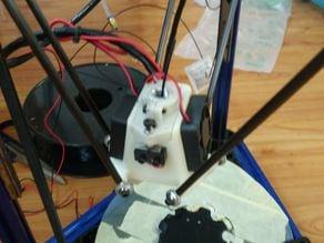 Micromake 3D Printer Delta mini kossel glass clamp V2