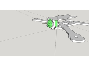 Armattan Rooster Vtx 45 degree and antenna mount (2 types)