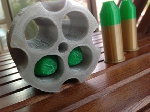 Clear cylinder for Hellboy Prop
