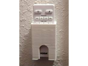 Remote holder for Koda ceiling light