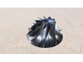 Impeller and Semi-axial impeller fans - 115mm diameter