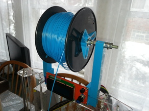 Filament Spool and Smart Controller holder for Prusa i3