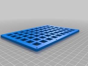 6x9 Split keyboard Handwire