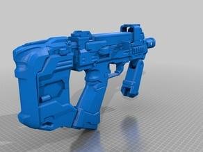 Halo 5 SMG sliced