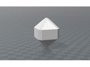 Tetragonal crystal Cassiterite