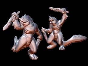Slisk Warriors (15mm scale)