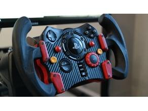 Logitech G29 GT Wheel rear brace and buttons