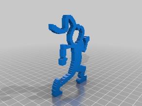 (3D Slash) Running_Couple