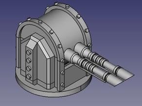 Heavy laser defence turret