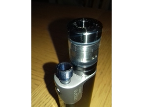 Eleaf Melo3 DripTip ergonomic feel