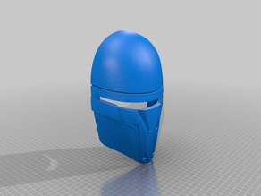 Darth Revan Mask visor removed
