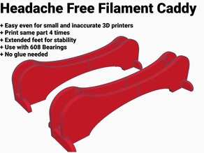 Universal Headache-Free Filament Caddy Version 3