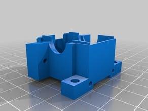 Kyosho Lazer Alpha front differential box (back half)