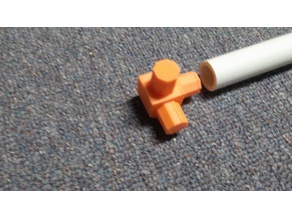 """1/2"""" PVC pipe connector, 3 way"""