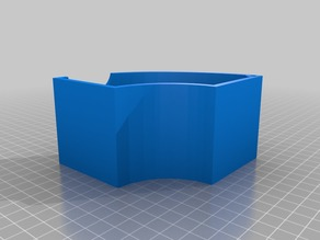 Hatchbox Spool Container with hole for bolt