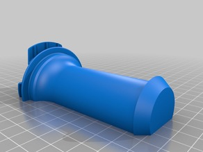 Ultimaker 2 spool holder (short)