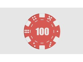 Poker Coins - for Dual Extrusion