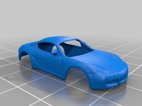 Porsche Cayman S scale 1:100 - 3D Scan