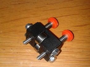 holder for pressure bearings extruder rapman