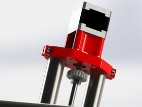 -old- Mostly Printed CNC -Add On- Z Adjust Knob