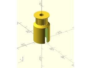 Vacuum Variable Capacitor to GT2 Pulley