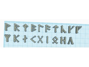 Cirth - Dwarvish runes - Lord of the Rings