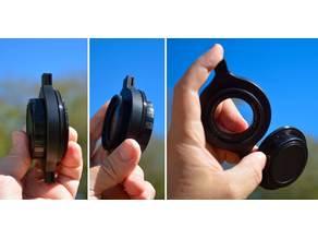 Raynox rear lens cap