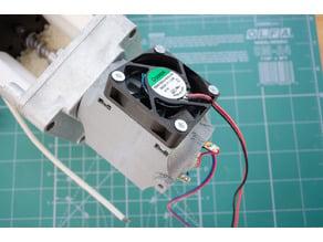 Felfil Evo geared motor (36mm diameter x 60mm length) cooling jacket