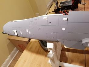 Freewing Twin 80mm/90mm A-10 Thunderbolt II Port Louvers