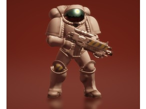 Terran prime space marine