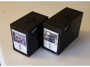 Magic The Gathering Stack-able Card Storage Boxes