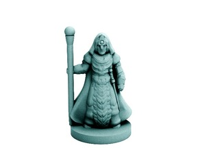Starfall War Mage (18mm scale)