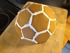 Geodesic Dome Gingerbread House