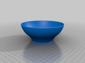 Bowl with an S
