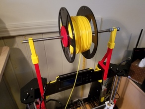 Anet A8 Supported Filament Holder