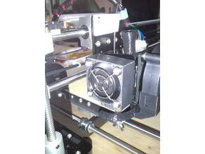 Anet A8 Extruder fan holder/cover