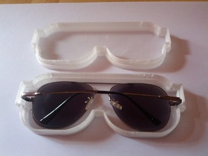 'Clear' Glasses Case