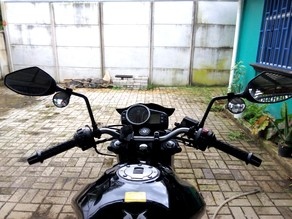 Wide Angle Motorcycle mirrors