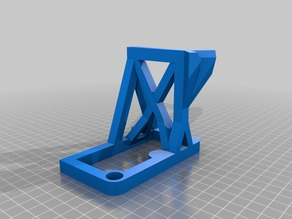 Mechanical Laser Show - Cleaner frame - No Supports