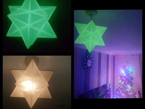 Glow in the dark light star