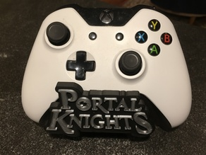Controller Stand Front Plate - for Portal Knights