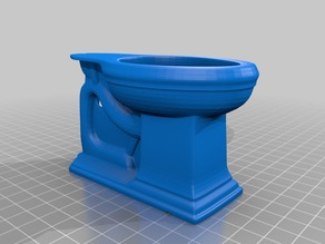 Toilet Model originally designed by Haihuynh.