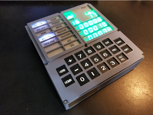 Open DSKY Apollo Guidance Computer by Pixelman - Thingiverse