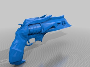 Destiny Exotic Hand Cannon Thorn 1:1 Scale