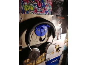 Head Phone Wall Mount With Wire Holder