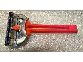 gillette fusion blades holder (handle)